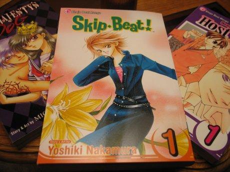 Manga on display
