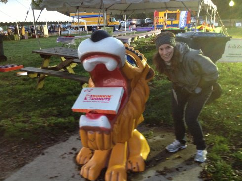 The lion ate my doughnuts.